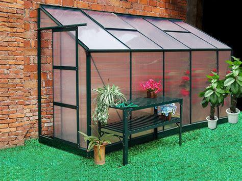 recherche serre de jardin serre de jardin adoss 233 e en polycarbonate de 3 7m 178 calice ii
