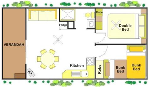 2 Bedrooms albury all seasons tourist park albury nsw 2 bedroom
