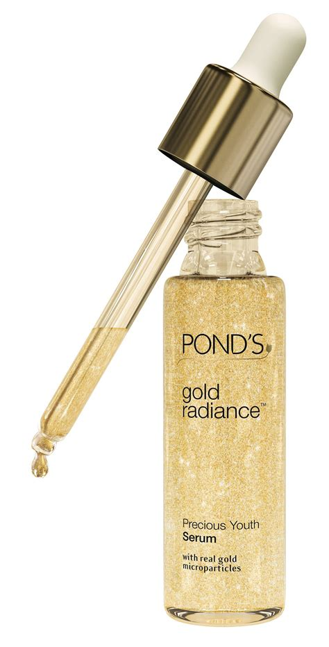 pond s gold radiance precious youth serum product review promakeupme