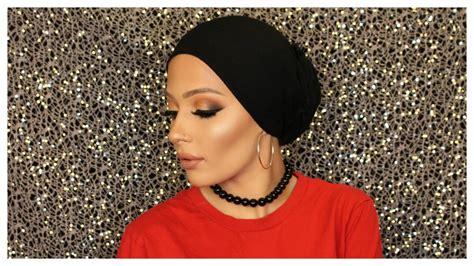 hijab with bun turban low bun tutorial hijab babylailalov youtube