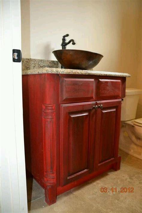 red bathroom vanity refinishing bathroom vanity cabinets rachael edwards
