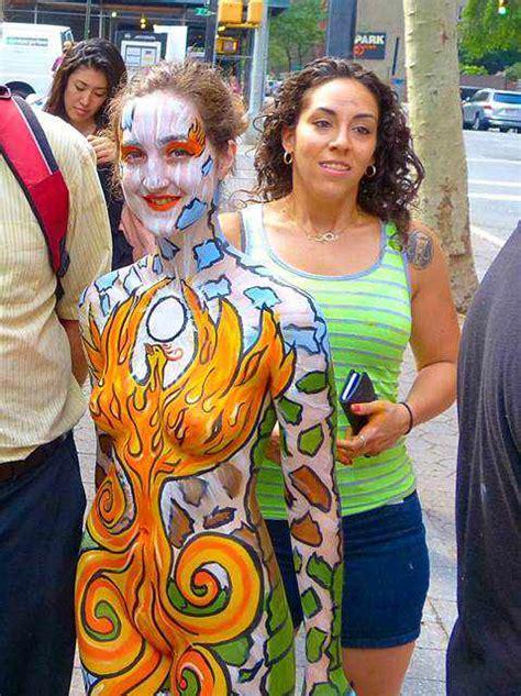 painting new 2015 驚き ニューヨークボディペインティングデーがすごかった new york