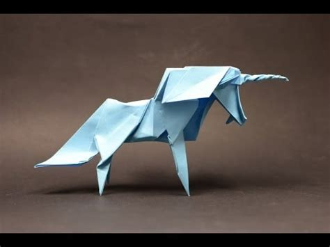 Origami Unicorn - origami unicorn by diaz part 1 of 2 remake