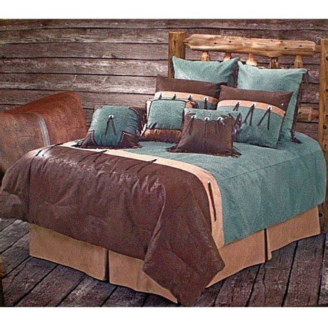 western bed sets san juan turquoise western bedding comforter set twin size