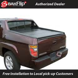 Tonneau Covers For 2006 Honda Ridgeline Bakflip G2 Folding Tonneau Cover 2005 2015 Honda