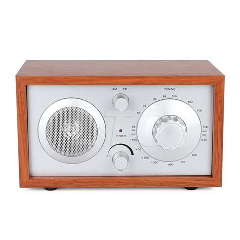 cabinet am fm radio radioddity sy 602 wooden am fm table top