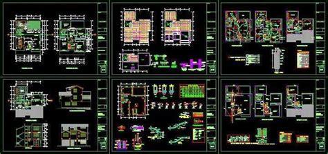 arredo cad torrent villa project dwg house dxf format also avilable kaf