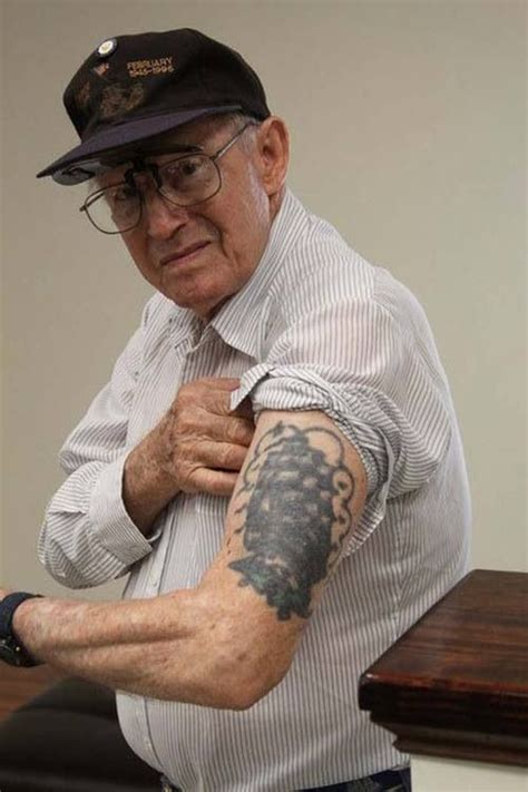 Old Man Tattoo Meme - old man with vintage sailor tattoo traditional tattoo