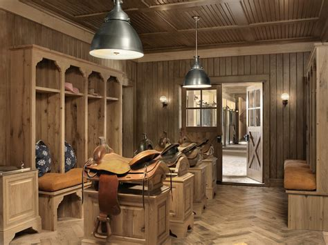 Saddle Room by Tack Room Ideas Country Laundry Room And