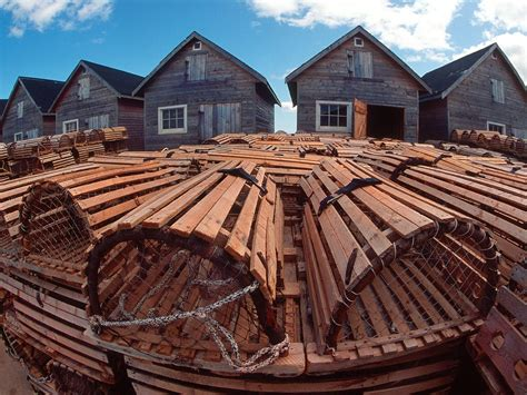 Setrika National Pei 111 fishing huts and lobster traps prince edward island canada picture fishing huts and lobster