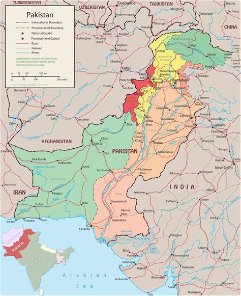 where is pakistan on the map pakistan maps
