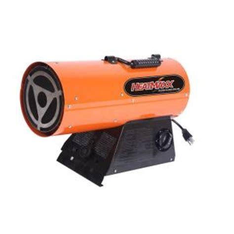 heatmaxx 55 000 btu forced air propane gas portable heater