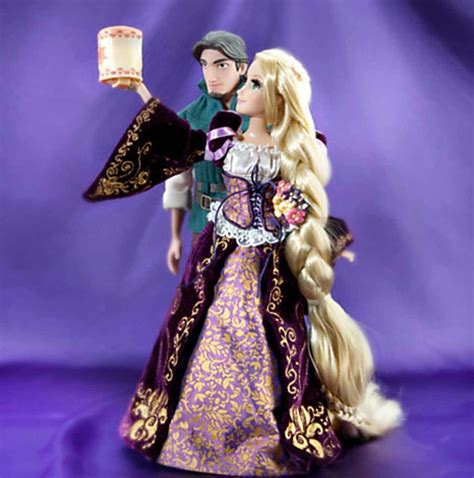 disney store rapunzel and flynn limited edition doll set fairytale collection ebay