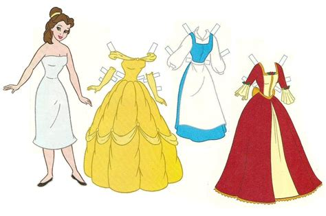 Paper Dolls - 6 best images of free printable paper dolls disney