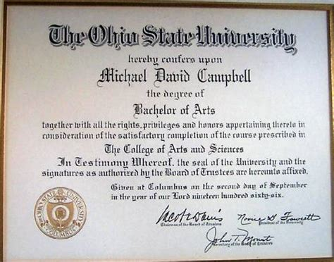 Cost Of Mba At Osu Working Professionals by Michael D Cbell P G P H Curriculum Vitae I2m