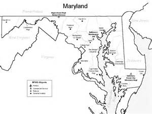 maryland airport map maryland airports