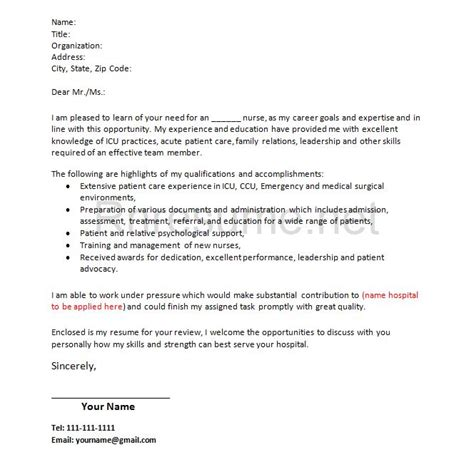 registered resume cover letter how rn cover letter should look like http www rnresume