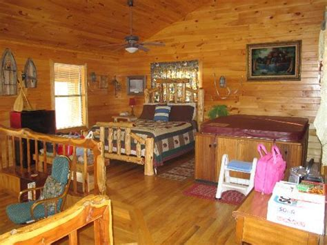 Friendly Pines Cabins by Another Angle Of The Sleeping Area Picture Of Friendly