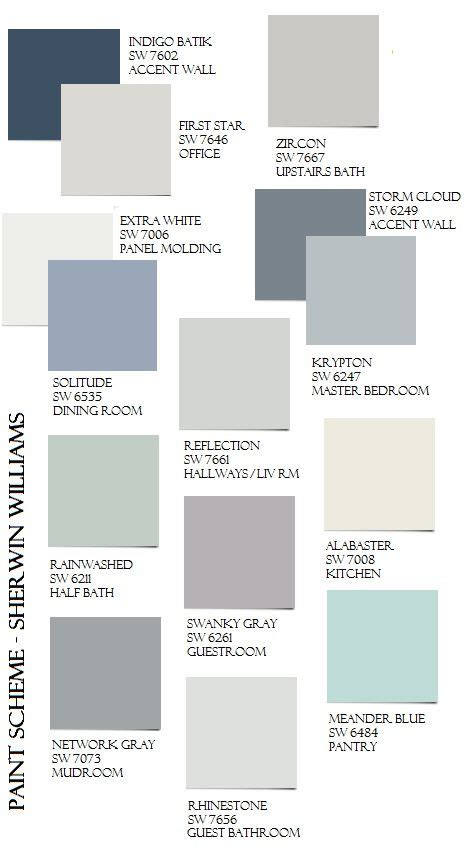 grey colour combination the best whole house paint scheme that looks great in