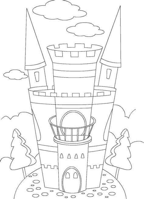 preschool coloring pages princess castle picture to color princess ballerina for