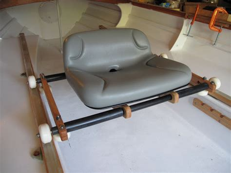 row boat seats rowing for pleasure sliding seat for cruising rowboats