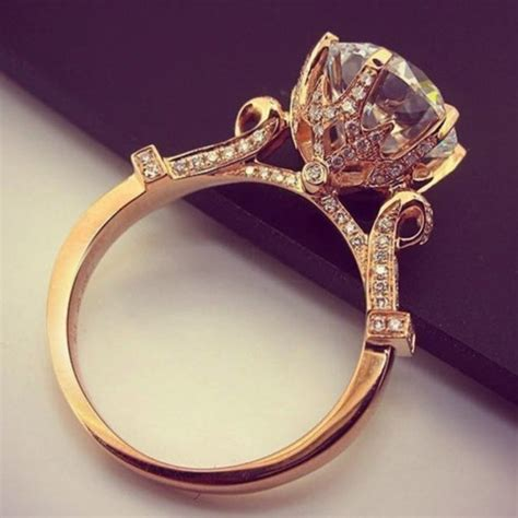 jewels ring gold engagement ring jewelry diamonds