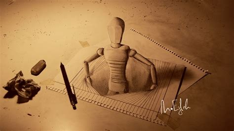 Sketches 3d by Artist Sketches Astonishing 3d Pencil Drawings