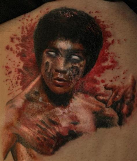bruce lee tattoo bruce tattoos by versago