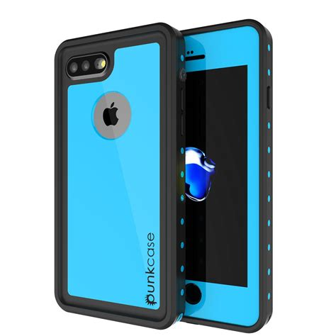 Blue Light Softcase For Iphone 7 Plus 8plus Hijau punkcase studstar light blue apple iphone 7 plus 7 plus waterproof