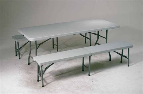 Folding Table And Bench Set Qt3965 3 Folding Table And Bench Set Office