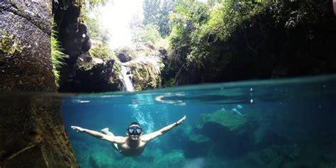 Telaga Sunyi, danau biru tempat bertapa yang jadi wisata
