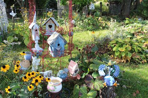 backyard fairy garden nature within cherish the moment wisconsin fall