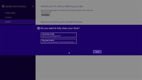 resetting windows laptop to factory settings how to restore windows 8 1 to factory settings