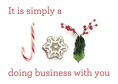 simply a joy business thank you holiday cards holiday