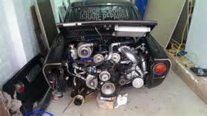 Fiat 850 Engine For Sale Fiat 850 Coupe With Twincharged 2 0 Litre