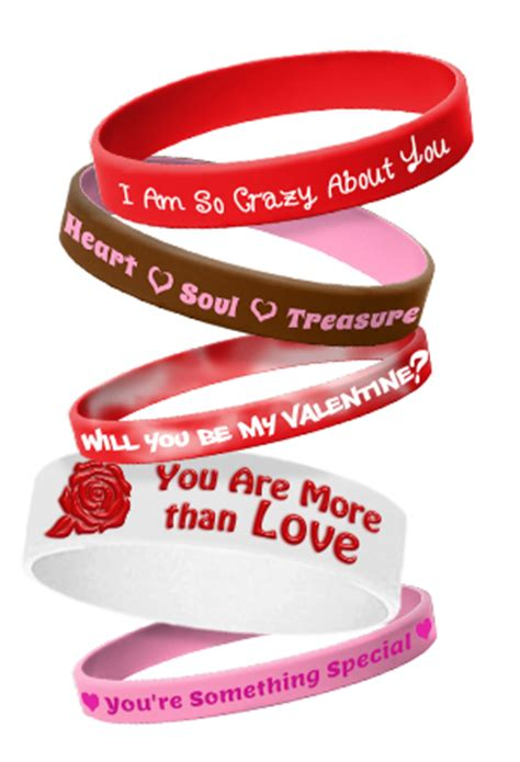 valentines day bracelets s day wristbands custom made personalized