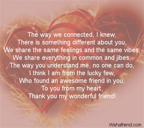 best wishes to you the one you are the one poem for best friends
