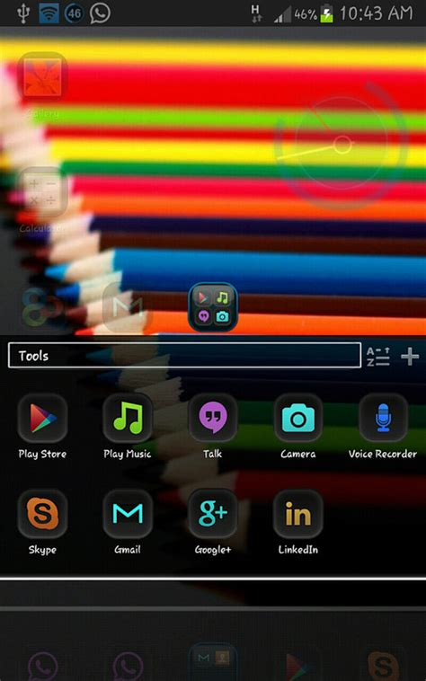 nova launcher tablet themes black chrome go launcher nova adw theme free android theme