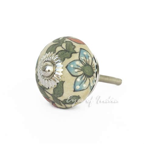 decorative cabinet door knobs green blue decorative ceramic dresser door cupboard