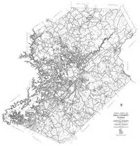dot county maps maps county 1995 dot highway map georgiainfo