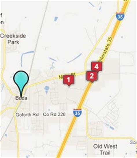 buda texas map buda texas hotels motels see all discounts