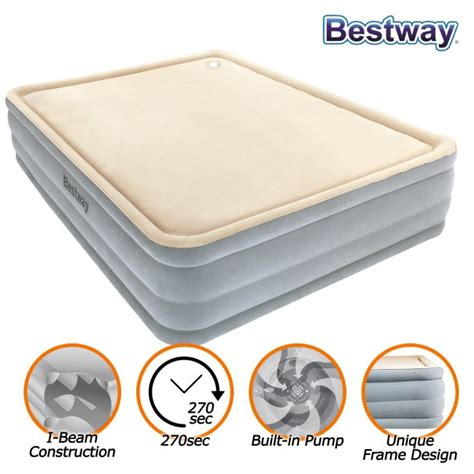 new bestway luxury air bed mattress built in