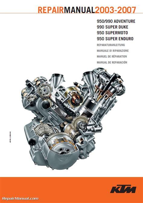 ktm lc    twin motorcycle engine repair