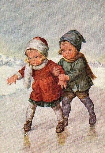 oude prenten vintage ansichtkaarten vintage kerstkaarten kerst kunst