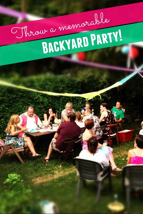 how to throw a backyard party throwing a backyard party outdoor furniture design and ideas