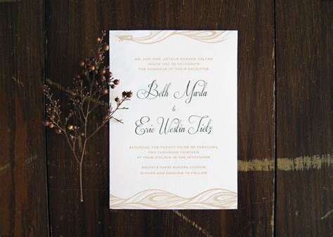 wedding invitations bc beth eric s quot come away with us quot destination wedding invitations