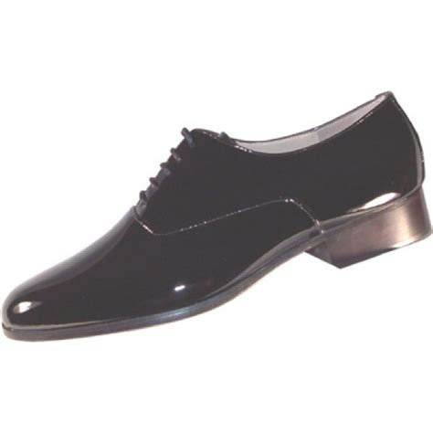 roma patent leather tuxedo shoes