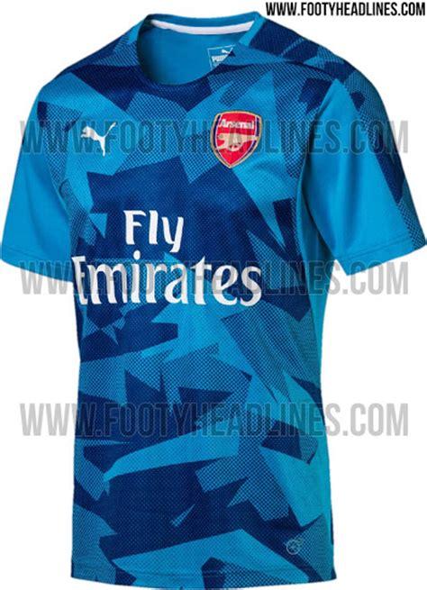 arsenal away 17 18 outstanding puma arsenal 17 18 pre match home away
