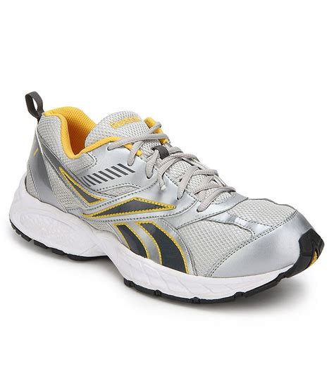active sport shoes reebok active sport silver sports shoes buy reebok