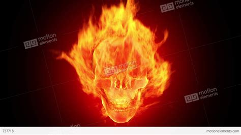 Free Fireplace Loop by Skull Hd Loop Stock Animation 737718